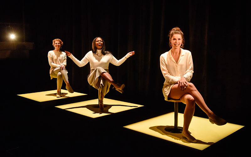 L'art de vivre de Liliane Gougeon-Moisan, créé à l'École nationale de théâtre, pavillon Monument-National, en novembre 2018